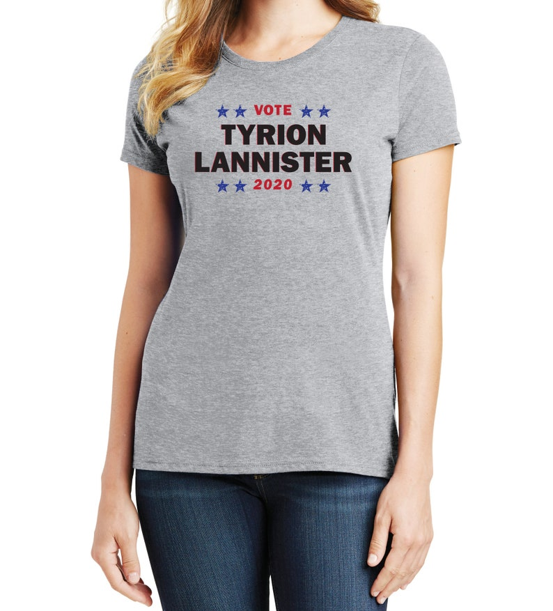 e5f9c12d6 Women's Vote Tyrion Lannister 2020 Political T-Shirt | Etsy