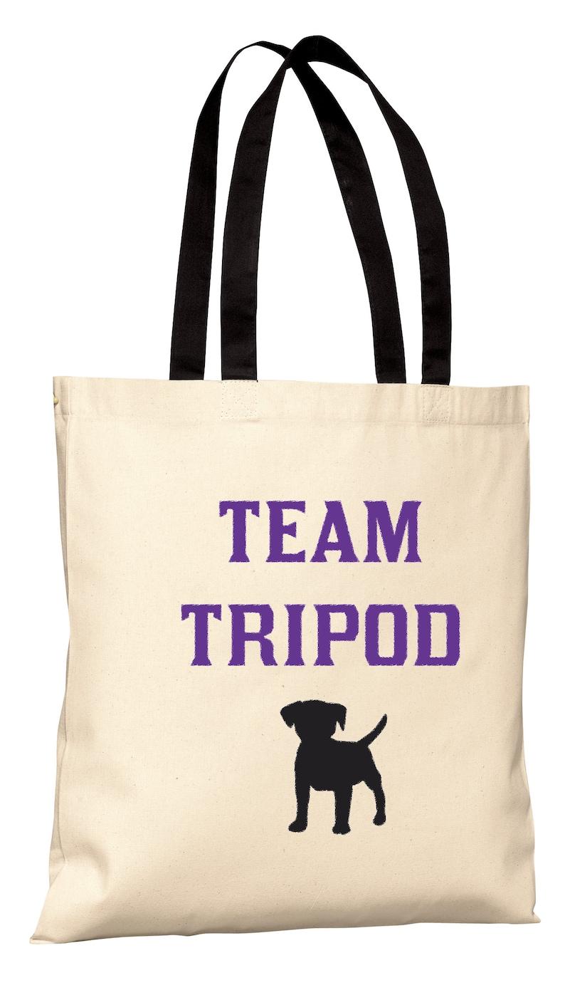 Team Tripod Tote Bag