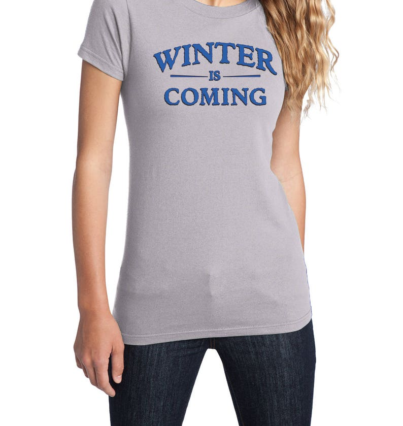 Fruit of the Loo Winter is Coming Game of Thrones T-Shirt