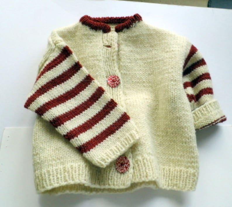 Baby jacket jacket jacks Janker white station wagon image 1