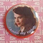 Peggy Carter Button