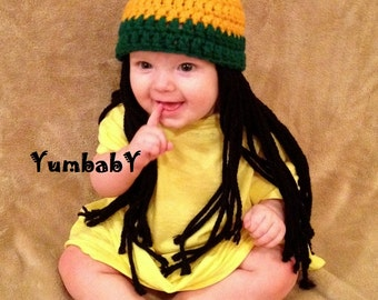389c92a70fe Handmade Hats and Wigs For All Ages by YumbabY on Etsy