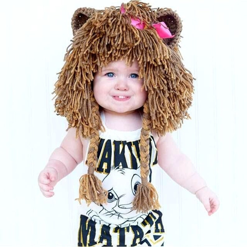 ac46792fbf7c Lion Wig Halloween Costume Lion Hats Costumes for Kids