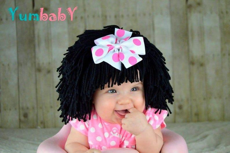 31e4807cd69f Halloween Costume Baby Hats Baby Wig Snow White Costume Baby