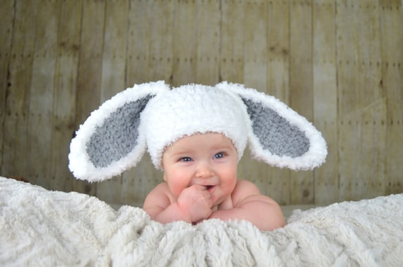 Sombrero de conejito Pascua sombreros sombrero del bebé  fb673fab312