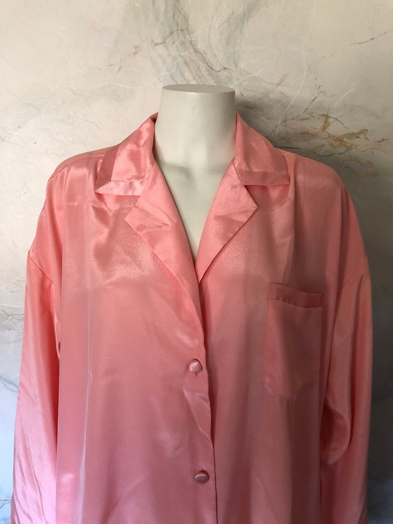 Vintage Comfy Victorias Secret Orange Sherbert Paj