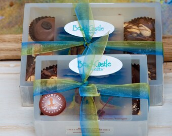 6 Piece Assorted Chocolates Sampler