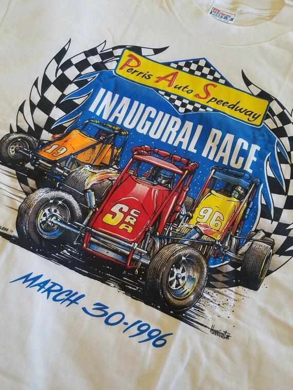 Inaugural Race Advertising Poster Ontario Motor Speedway 1970 California 500