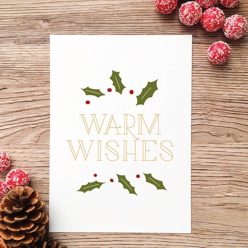 graphic relating to Christmas Printable Decorations identify Xmas Printable Wall Artwork / Xmas Decorations / Heat Wants Printable Artwork / Xmas Artwork Print Dwelling Decor / Handlettered