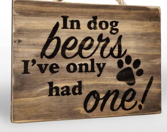Rustic Wood Bar Sign - Custom Wall sign for pub, home bar, distressed wood decor gift for Dad funny novelty sign, wall art, man cave decor