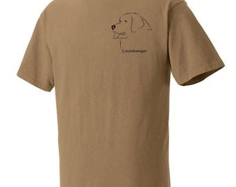 Leonberger Gaiting Garment Dyed Cotton T-shirt C6RCxDt