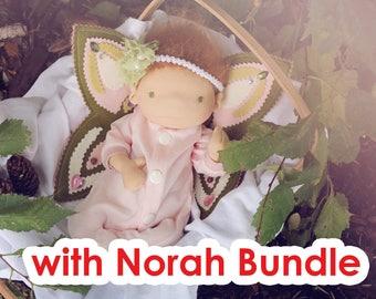 Fairy Pattern BUNDLE 1 (includes Preemie Norah pattern)