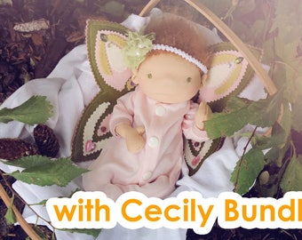 Fairy Pattern BUNDLE 2 (includes Sweet Cecily pattern)
