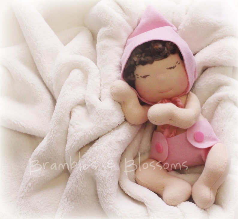RETIRED  Little Baby Doll making pattern and PDF tutorial image 0