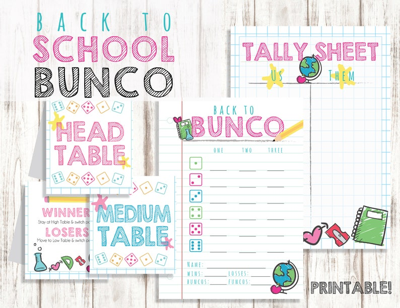 graphic about Printable Bunco Table Tally Sheets named Printable Bunco Fixed, Again towards Faculty Bunco, Bunco Playing cards, Bunco Tally Sheets, Bunco Desk Playing cards, Printable Bunco Playing cards, Back again towards Bunco