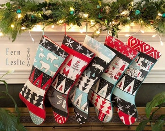 christmas stocking etsy