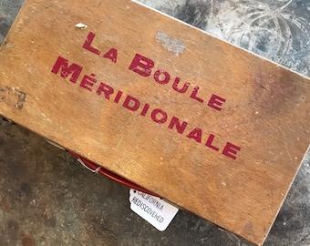 Vintage La Boule Meridonale lawn game