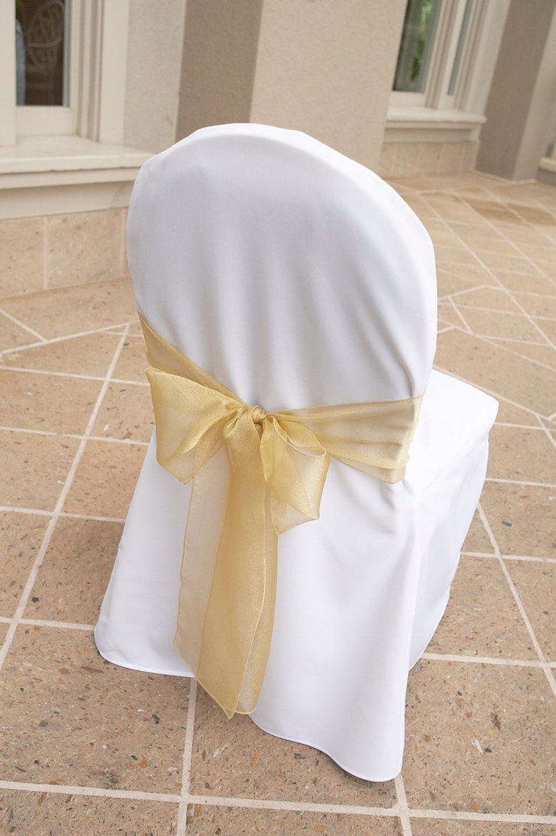 Surprising 1 Ivory Or White Chair Cover For Clearance Wedding Chair Cover Unique Chair Cover Banquet Chair Cover Caraccident5 Cool Chair Designs And Ideas Caraccident5Info