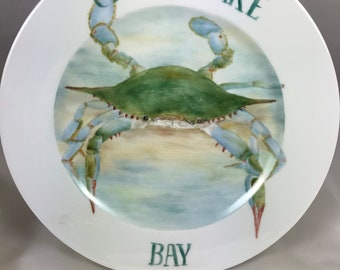 MD Blue Crab plate