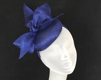 a726ed1c54ef9 DEE DEE - Cobalt Blue Fascinator Hatinator Headpiece Mother of Bride