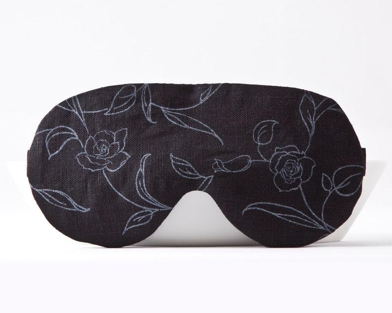 2ed6e60f5c6 Floral Sleep Mask Blindfold for Sleeping Travel Eye Mask