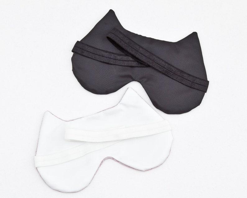 Travel Eye Mask Cat Mom Gift Cat Lover Gift Bohemian Sleep Mask Bachelorette Party Mask Sleep Mask for Women Floral Sleep Mask
