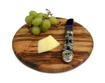 Round Maple Cutting Board, Maple Wood Cutting Board, Rustic Trivet