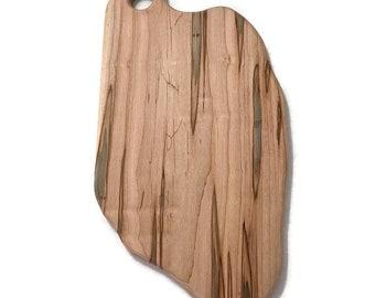 Maple Serving Board, Wood Cutting Board, Rustic Kitchen Decor