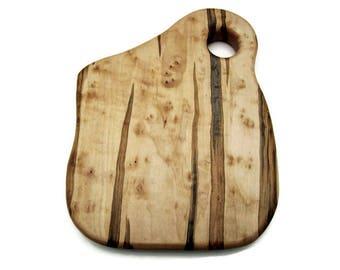 Birds Eye Cutting Board, Maple Cutting Board, Square Maple Board, Ambrosia Board, Wood Cutting Board, Chopping Board, Cheese Board