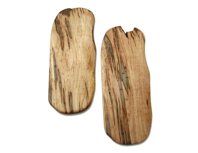 Charcuterie Board Maple Wood Trivet Set Kitchen Accessory