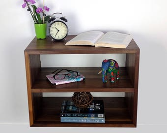 Charmant Floating Nightstand With Storage, Nightstand Modern, Modern Bedside Table,  Minimalist Nightstand, Wall Mounted Night Stand With Walnut Shelf