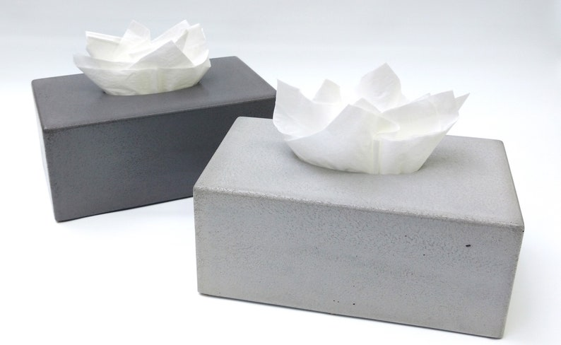 Concrete Tissue Box Cover Kleenex Tissue Box Cover