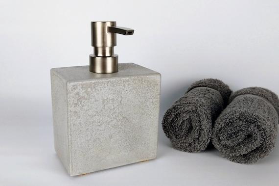 Concrete Soap Dispenser Soap Dispenser Pump Soap Dispenser Etsy
