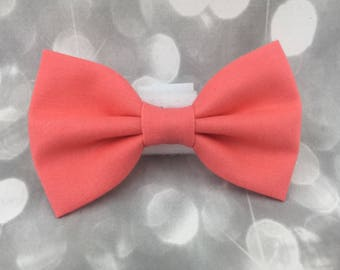 Coral Paradise Small Pet Dog Cat Bow / Bow Tie