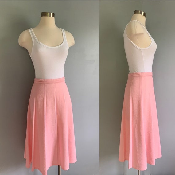"1970's Vintage ""Pretty Pleated""' Pink Collegion of"