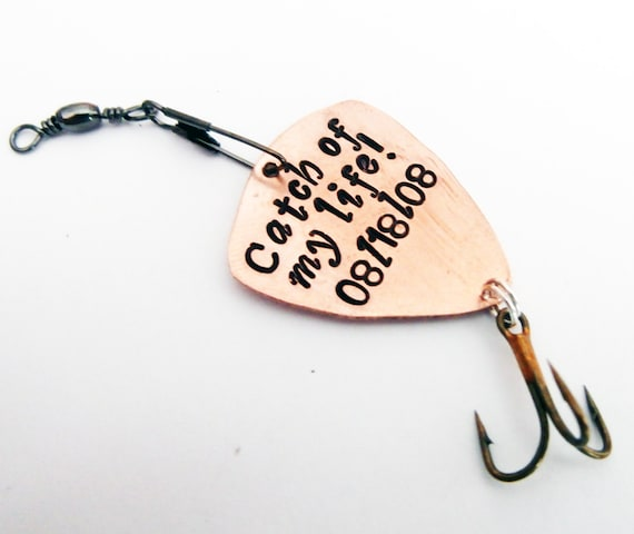 Catch Of My Life, Fathers Day Gifts, Fishing Keychain, Boyfriend Gift, Fishing Lure, Personalized Lure, Love You More Than You Love Fishing
