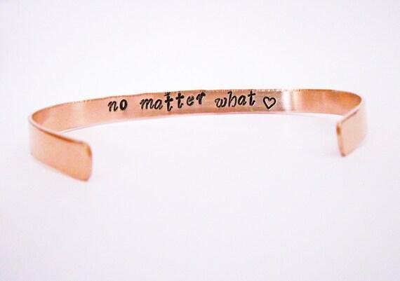 Personalized Quote Bracelet, Inspirational bracelet, Stacking bracelets, Personalized gift. Custom hand stamped secret message cuff bracelet