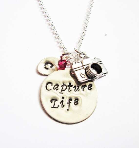 50174876b645 Personalized Camera Necklace initial necklace photography