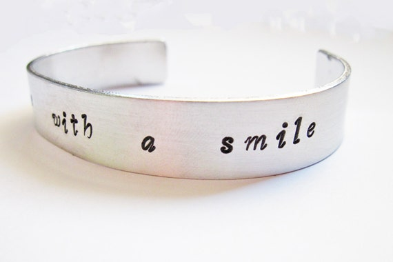 Personalized Cuff Bracelet, Personalized Bracelet, Hand Stamped Cuff Bracelet, Personalized Jewelry, Wedding Gift, custom bracelet engraved
