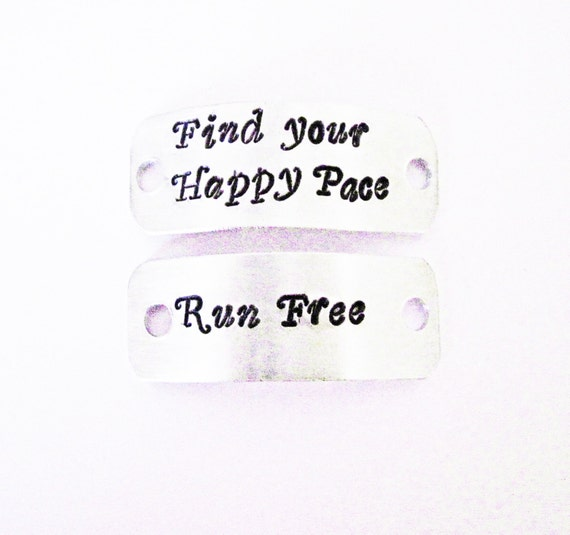 Inspirational Shoe Charms, Runner Shoe Tags Marathon, Triathlon, Athlete Motivational Gift, shoe ID tag, set of two shoe tags, set of 2 tags