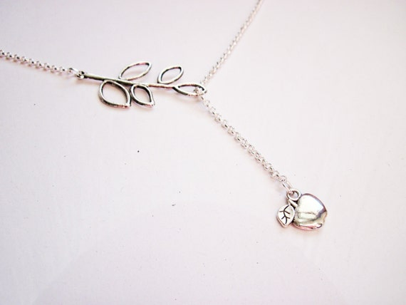 Reserved - set of 3 Apple Necklaces