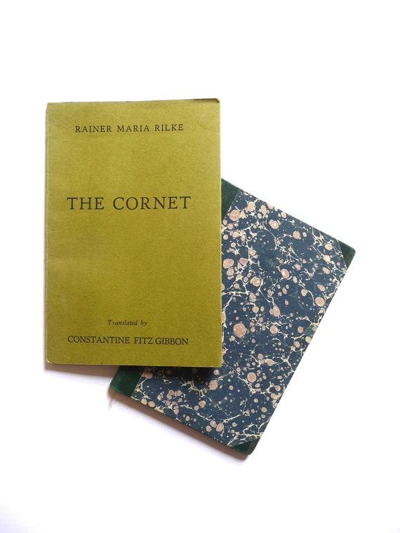 Rainer Maria Rilke Die Schultüte Die Weise Von Liebe Und Tod Des Cornets Deutsch Englisch Vintage Bücher Konstantin Fitz Gibbon