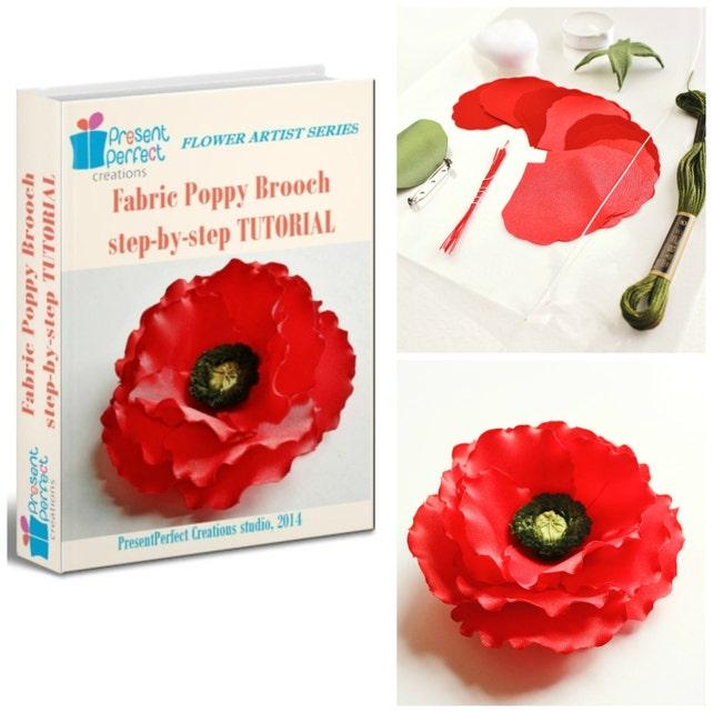 Blumen Sie machen Stoff Kit Stoff Blume Kit DIY Stoff Kit | Etsy