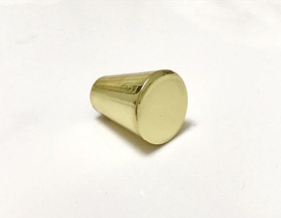 Peggy 5/8u0027u0027 Polished Brass Cabinet Knob Drawer Pull | Etsy