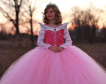Disney Aurora costume, Aurora dress, Disney Princess Dress, Princess costume, Flower girl dress, Disney's Sleeping Beauty