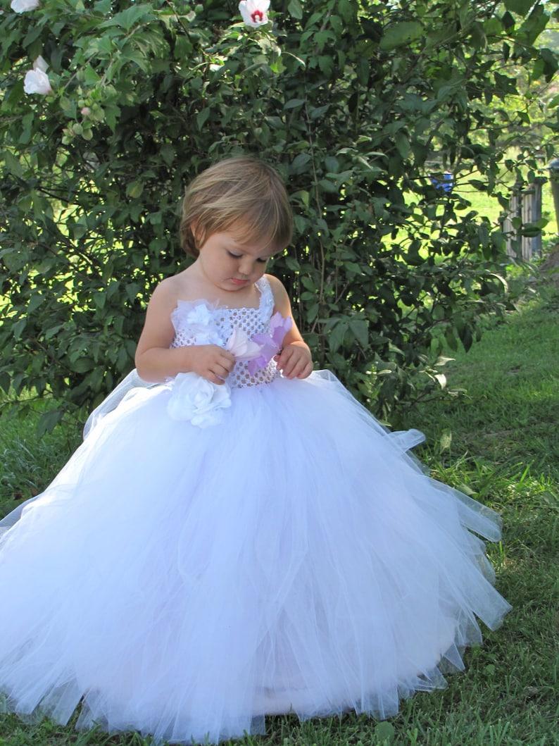 6e0d93a267 Dziewczyny Tiul sukienka dziewczyna kwiat sukienka dziewczyna