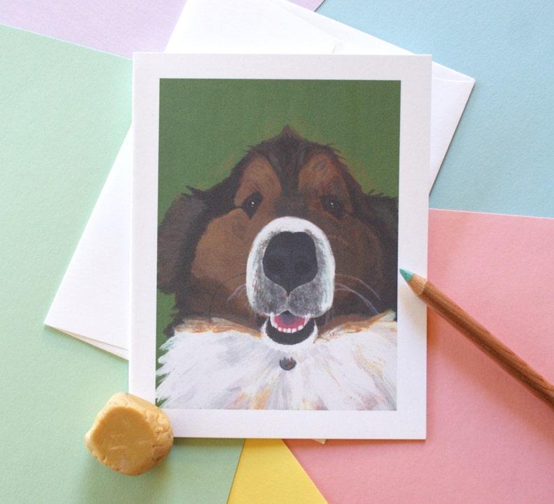 Maura Birthday Cards Dog For