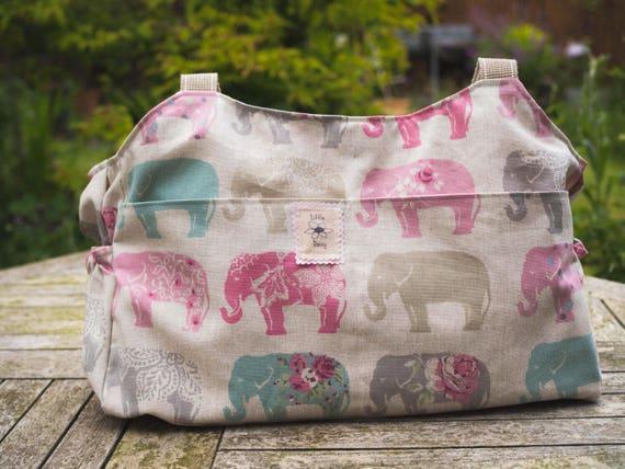 c9ef14f9e5 Elephants shoulder bag Large diaper baby change purse Baby