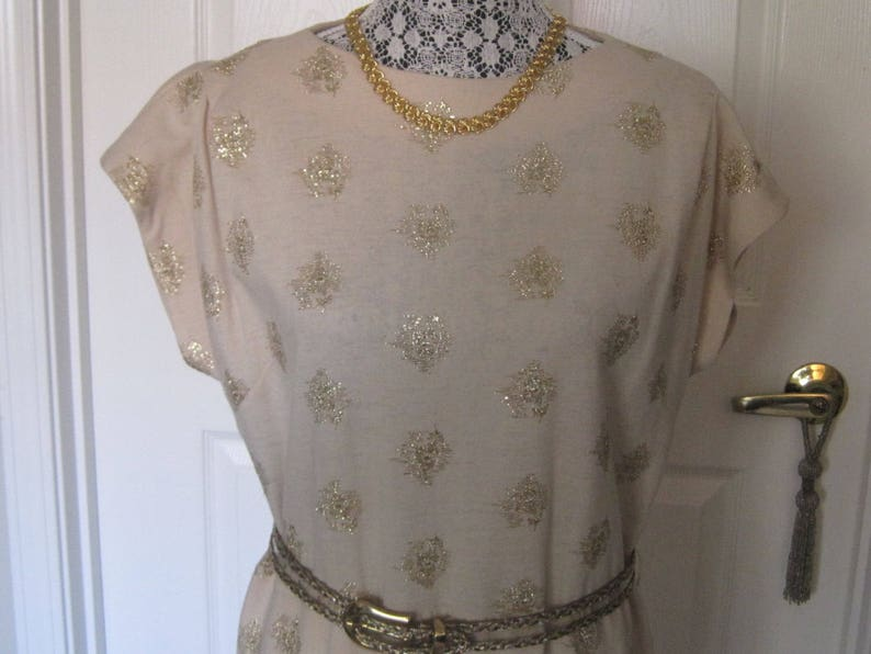 Signed R.K Made By G Fox /& Co Made In Usa ORIGINAL Vintage Wiggle Dress
