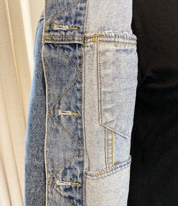 Blue Denim Jacket, Vintage Jacket, Tagged Limited… - image 8